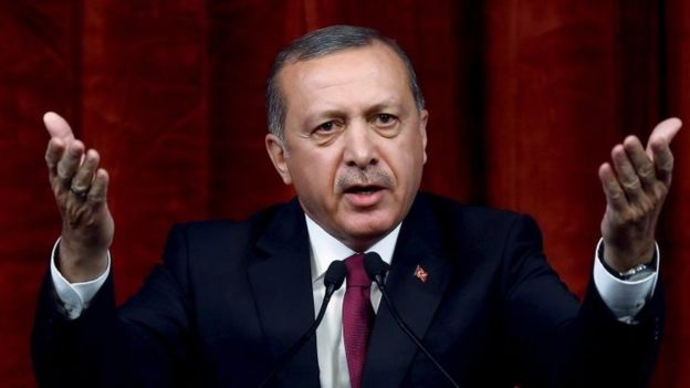 President Erdogan has launched root-and-branch changes to the army