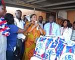 EXPOSED: Akuffo Addo's wife also in 'gifts-for-votes' spree - PHOTOS