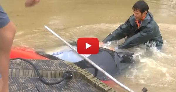 Survivalist saves home with Aqua Dam after everyone called him crazy