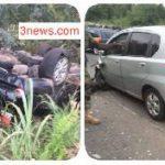 Amissah-Arthur escapes accident; 4 injured