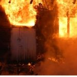 Residents set Donkorkrom police station on fire