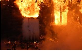 Residents set Donkorkrom police station on fire