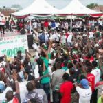 Business booms in Cape Coast ahead of NDC campaign launch