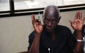 Dr Kwadwo Afari Gyan, former EC boss