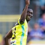 Gent's Nana Asare dedicates goal on injury return to club's physio