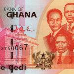 Wednesday's exchange rates for Ghana cedi