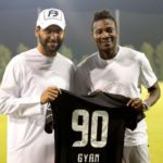 #90? What happened to Asamoah Gyan's number 3?