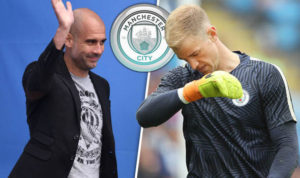 Pep and Hart feud?....video footage from training ground seem to suggest so