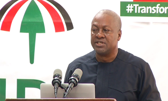 Mahama assures social media won't be shut down on Dec 7