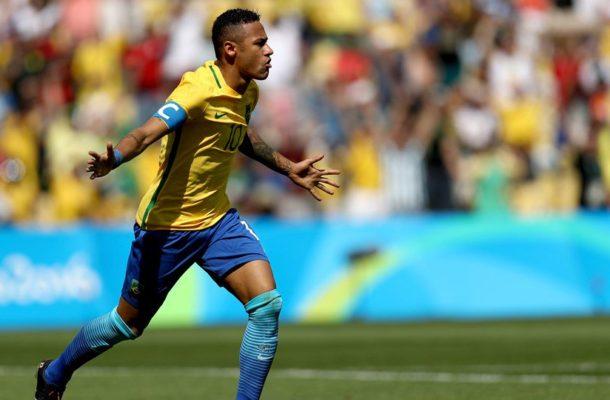 Brazil captain, Neymar scores fastest goal in Olympic football history