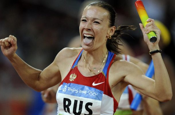 Russia stripped of Beijing Olympic relay gold medal for doping