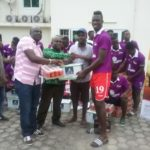 De Rockson Donates To Medeama SC Ahead Of TP Mazembe Cracker