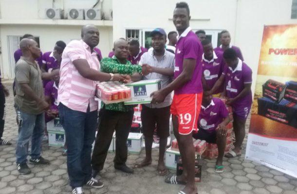 De Rockson Donates To Medeama SC Ahead Of TP Mazembe Cracker