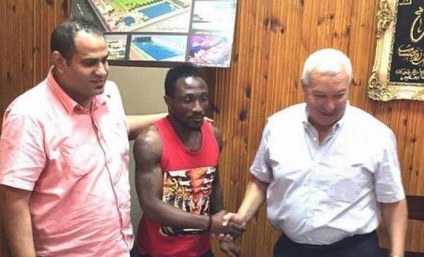 Ex-Ghana striker Ben Acheampong signs for Egyptian side El-Dakhleya