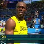 Video- Usain Bolt jogs to 100m heat victory at Rio Olympics