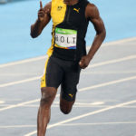 USAIN BOLT declared himself on course for sporting immortality after completing the first part of his Olympic triple triple