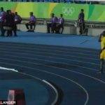 Usain Bolt swaps track for field as Jamaican sprint king tries his hand at javelin in Olympic Stadium  Read more: http://www.dailymail.co.uk/sport/othersports/article-3751405/Usain-Bolt-swaps-track-field-Jamaican-sprint-king-tries-hand-javelin-Olympic-Stadium.