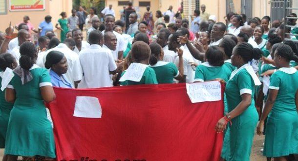 Damongo  Nurses strike over security concerns