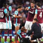 Ayew's debut ends in disaster; limps off injured