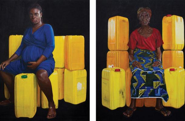 """Kufour gallon"": An inspiration for artmaking."