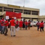 ECG workers demonstrate against planned concession