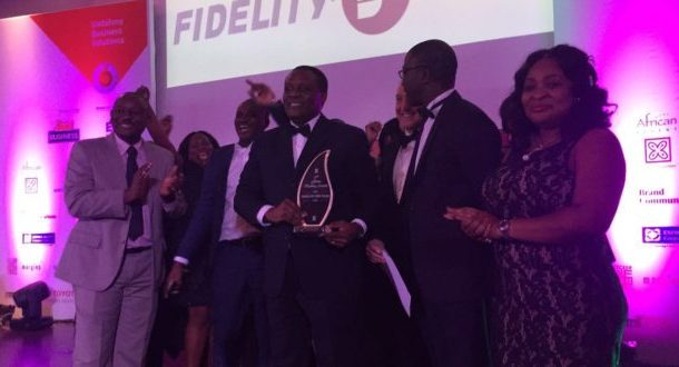 Fidelity Bank wins 15th Edition of Ghana Banking Awards