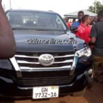 Mahama's car gift to Abudu Regent from his coffers – NDC
