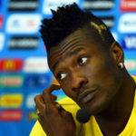 Asamoah Gyan makes a return to the Black Stars