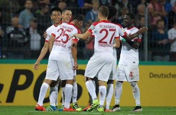 Ghanaian defender Daniel Opare stars in Augsburg's German Cup win