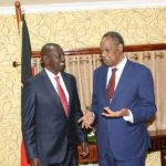Africa: CAF President Issa Hayatou met with Kenya's Vice President on CHAN 2018