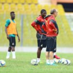 PHOTOS: Black Stars first training session