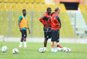 PHOTOS: Black Stars first training session
