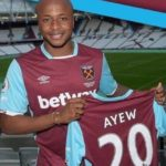 Andre Dede Ayew Signs Record Transfer Fee For West Ham United.
