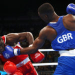 Rio 2016: Ghanaian-born British boxer leaves his Ugandan victim gasping for air!