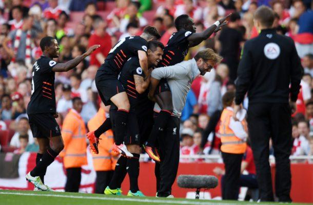 EPL: Super Sunday- Liverpool 'gun' down the gunners in 7 goal thriller.