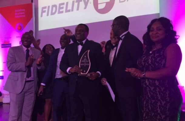 Fidelity Bank is Bank of the Year 2015