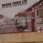 We didn't use Magna Terris houses as collateral - Estate owner