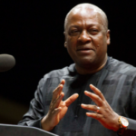 Nana Addo didn't see good roads because he slept on W/R  tour -Mahama