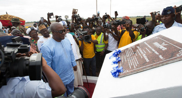 Mahama inaugurates Tamale airport [Photos]