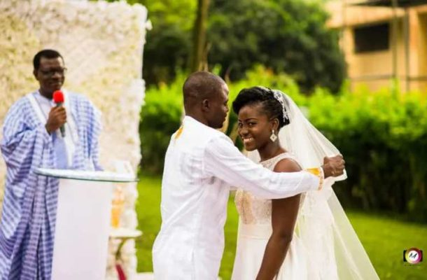 Wedding Photos: Manasseh Azure ties the knot