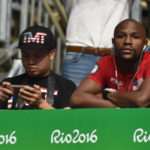 Floyd Mayweather scouts Ghanaian boxer at Rio 2016