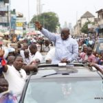 Akufo-Addo shakes Accra's central business district