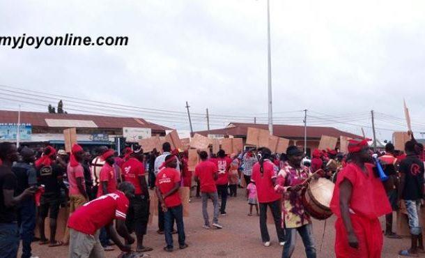 NPP takes 'times are hard demo' to Wa, Bolgatanga