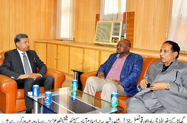 Ghana's Ambassador to Pakistan calls out Pakistani investors to Ghana