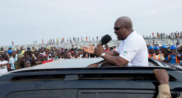 Mahama takes campaign to home region