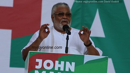 Rawlings' presence at NDC campaign launch is enough endorsement for Mahama – Lecturer