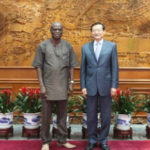 Roger Angsomwine meets Zhang Ming to strengthen Ghana-China relations