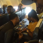 Aww, Nigerian girl gets proposed to on local flight this morning (photos)