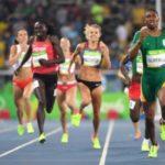 South Africa's Caster Semenya wins 800m gold