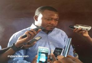 Mohammed Aboagye leader of the Tamale youth